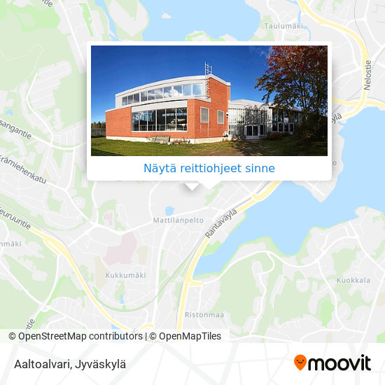Aalto-Alvari kartta