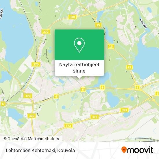 Lehtomäen Kehtomäki kartta