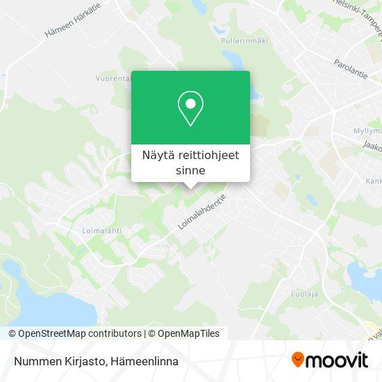 Jukolan Kirjasto kartta
