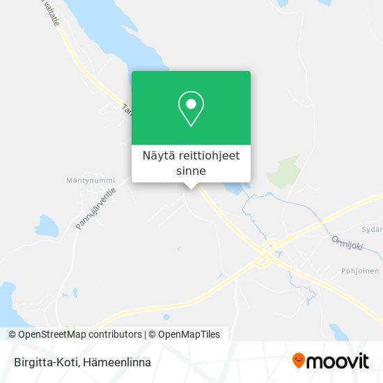 Birgitta-Koti kartta