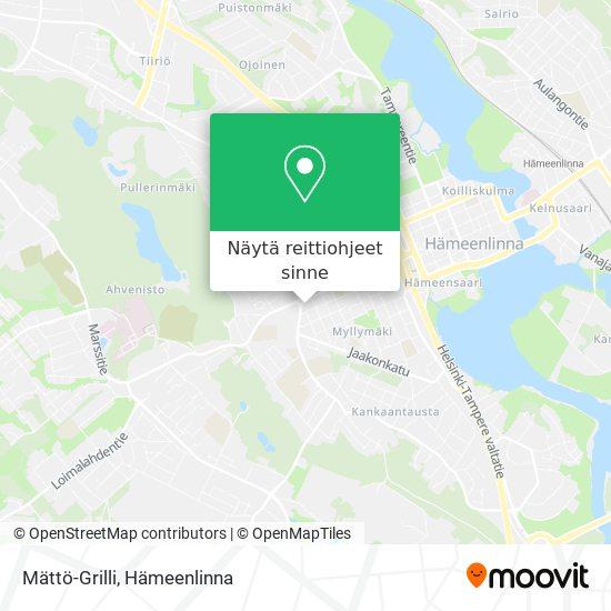 Mättö-Grilli kartta
