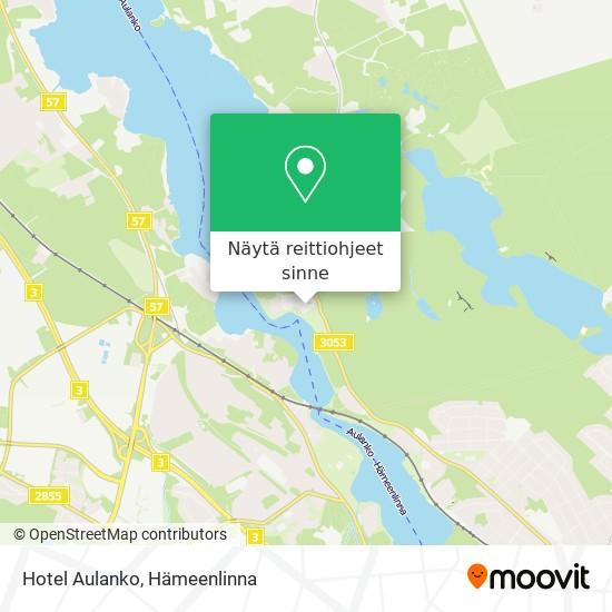 Hotel Aulanko kartta