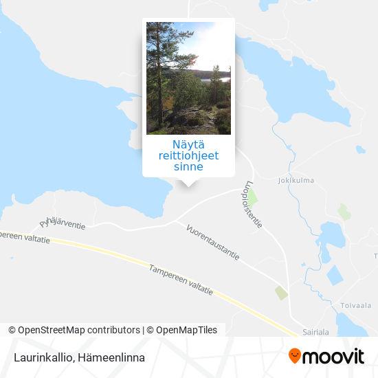 Laurinkallio kartta