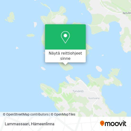 Lammassaari kartta