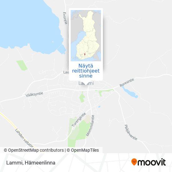 Lammi kartta