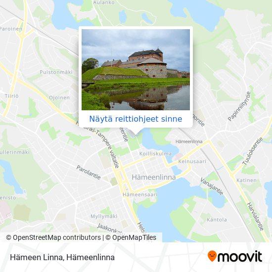 Hämeen Linna kartta
