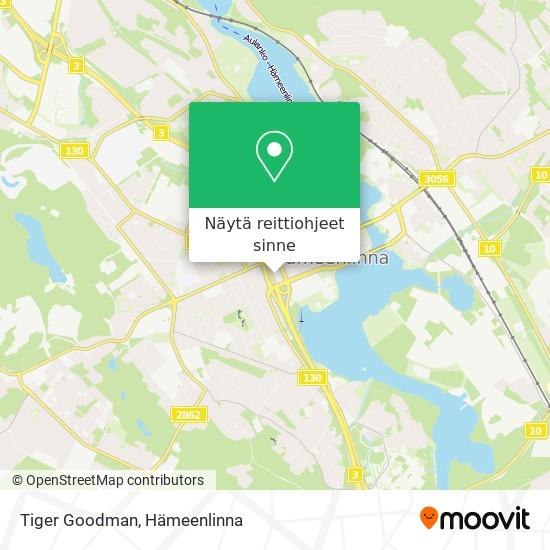 Tiger Goodman kartta