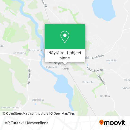 VR Turenki kartta