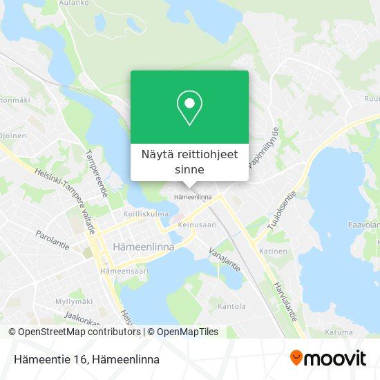 Hämeentie 16 kartta