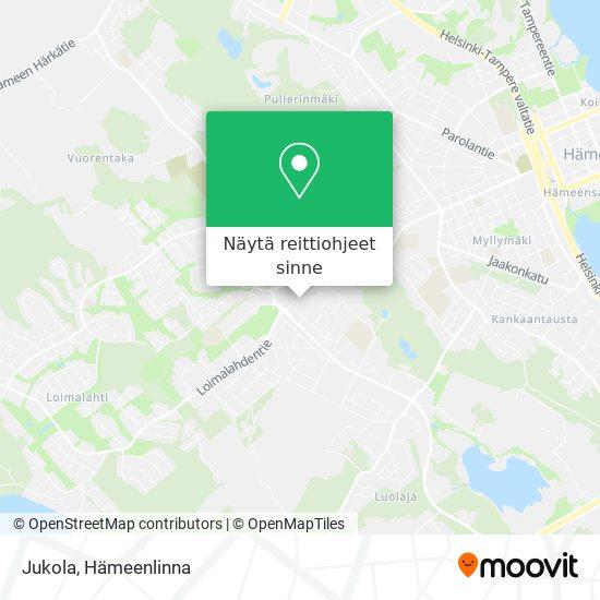 Jukola kartta