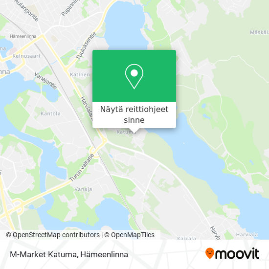 M-Market Katuma kartta