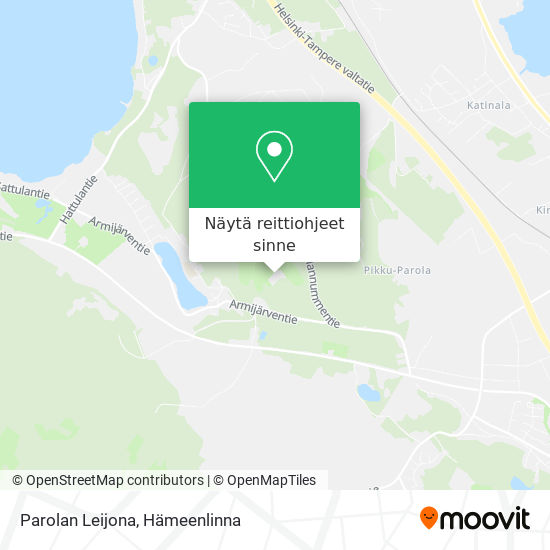 Parolan Leijona kartta