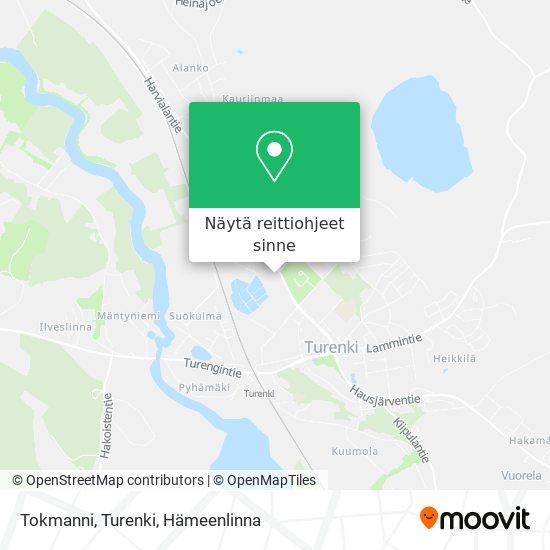 Tokmanni, Turenki kartta