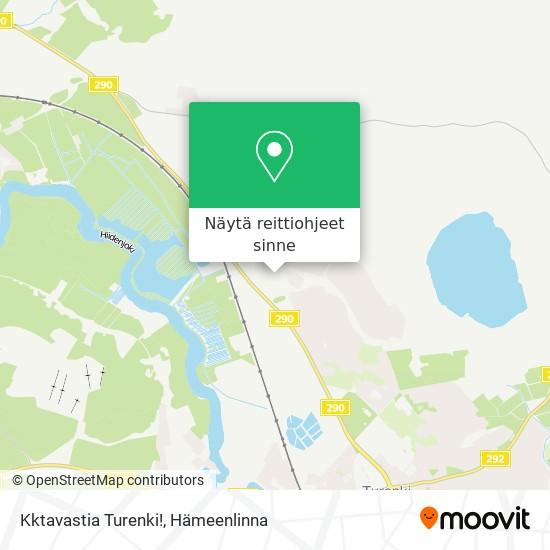 Kktavastia Turenki! kartta