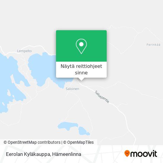 Eerolan Kyläkauppa kartta