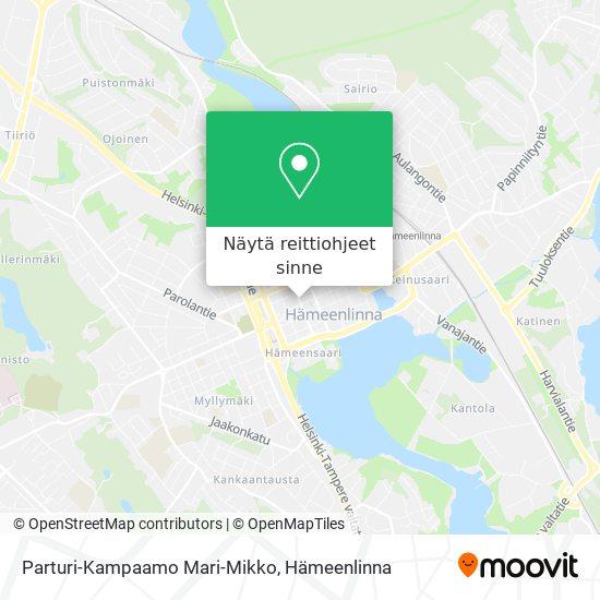 Parturi-Kampaamo Mari-Mikko kartta