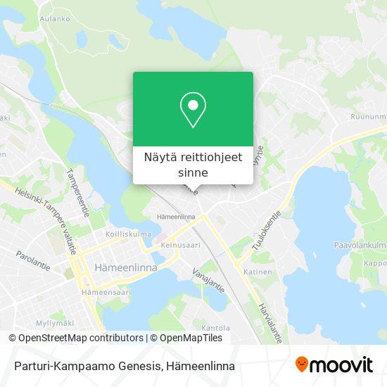 Parturi-Kampaamo Genesis kartta