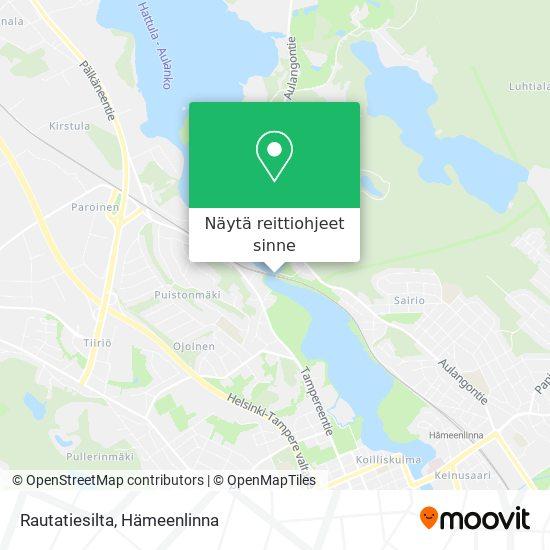 Rautatiesilta kartta
