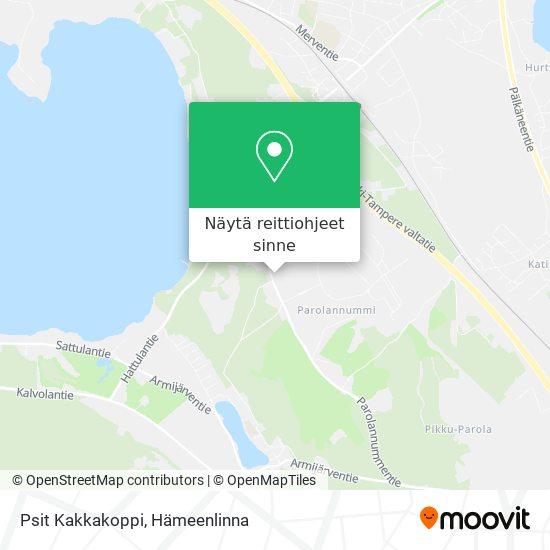 Psit Kakkakoppi kartta