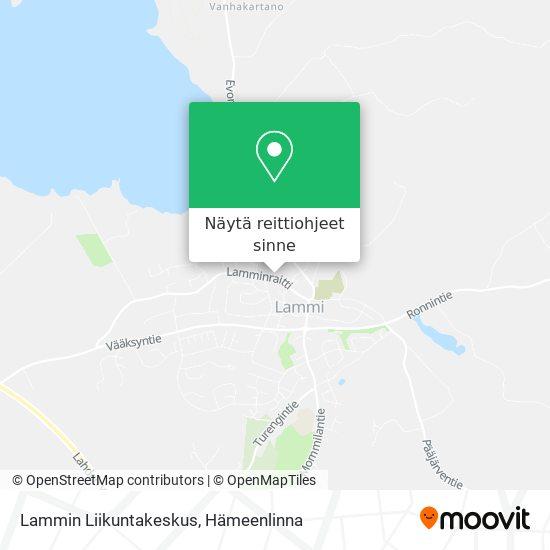 Lammin Liikuntakeskus kartta