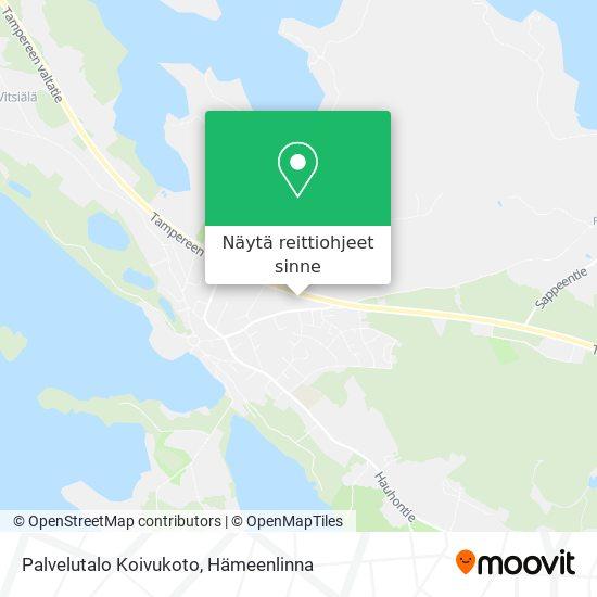 Palvelutalo Koivukoto kartta