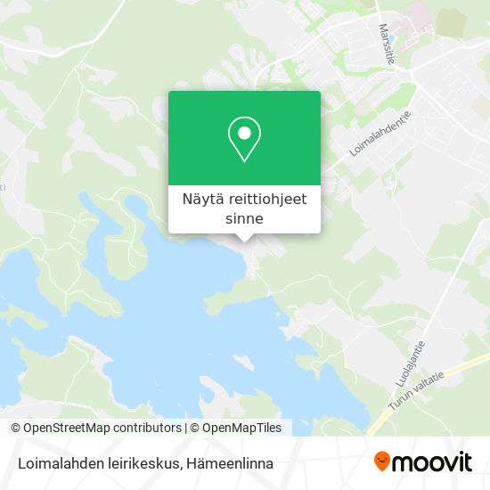 Loimalahden leirikeskus kartta
