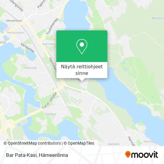 Bar Pata-Kasi kartta