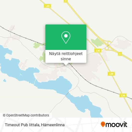 Timeout Pub Iittala kartta