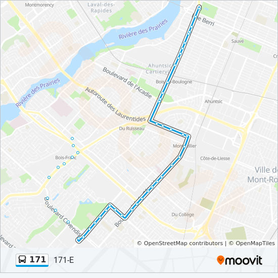 171 Route Time Schedules Stops Amp Maps 171 E