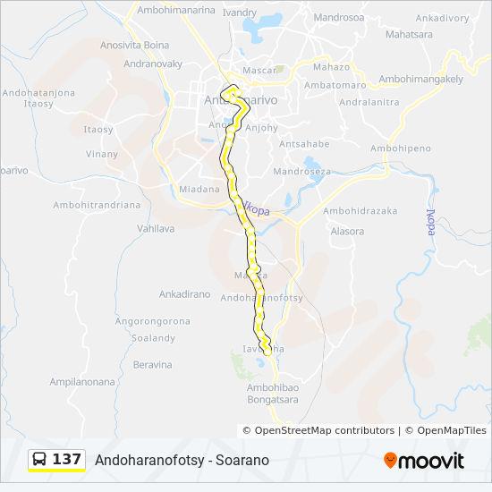 137 Route: Time Schedules, Stops & Maps - Andoharanofotsy on sherbro island map, mbabane map, monrovia map, niamey map, cairo map, asmara map, kampala map, malabo map, masoala national park map, lilongwe map, pretoria map, casablanca map, harare map, kinshasa map, bujumbura map, maseru map, lagos map, dar es salaam map, johannesburg map, al hasakah map,