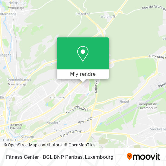 Fitness Center - BGL BNP Paribas plan