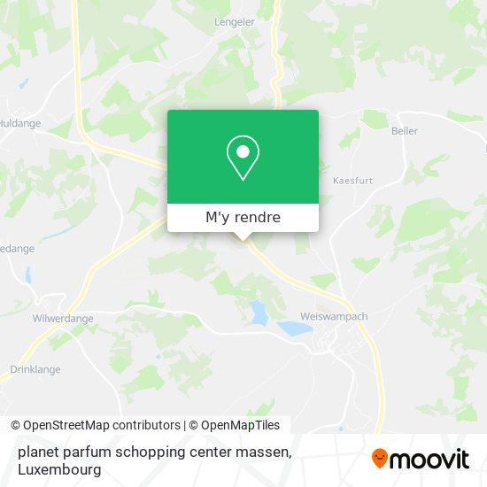 planet parfum  schopping center massen plan