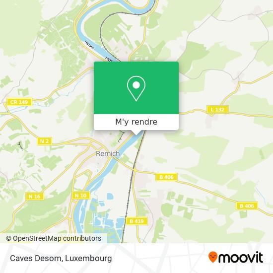 Caves Desom plan