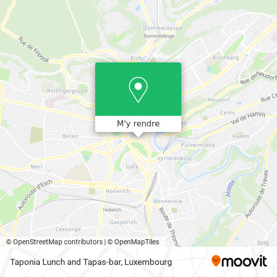 Taponia Lunch and Tapas-bar plan