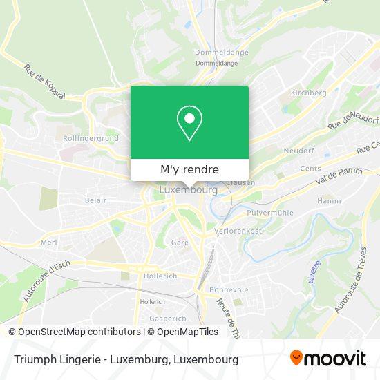 Triumph Lingerie - Luxemburg plan