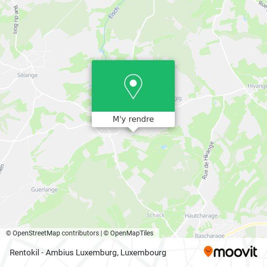 Rentokil - Ambius Luxemburg plan