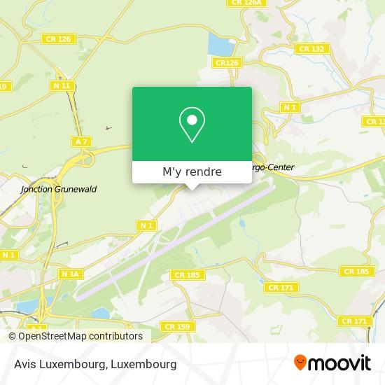 Avis Luxembourg plan