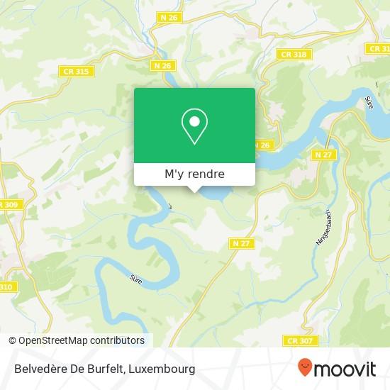Belvedère De Burfelt plan