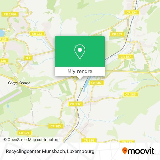 Recyclingcenter Munsbach plan