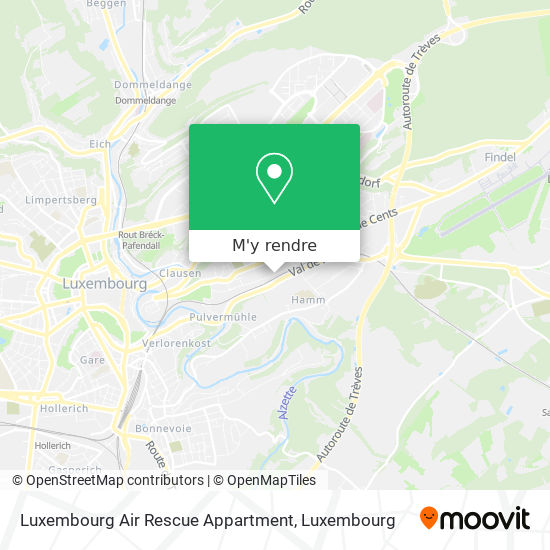 Luxembourg Air Rescue Appartment plan