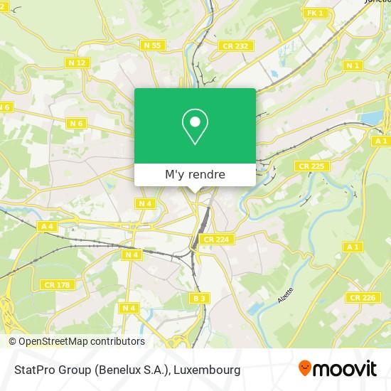 StatPro Group  (Benelux S.A.) plan