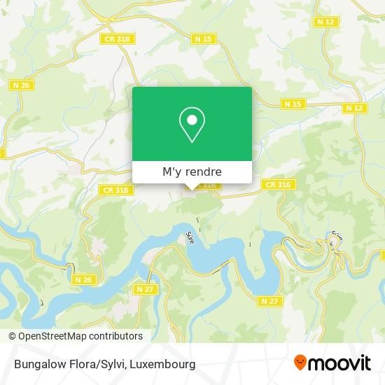 Bungalow Flora/Sylvi plan
