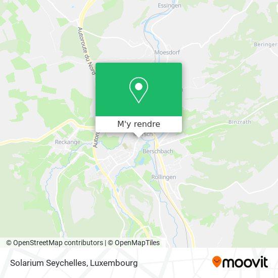 Solarium Seychelles plan