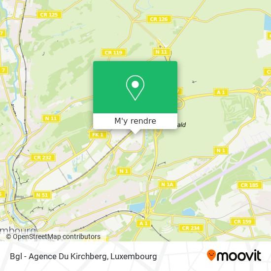 Bgl - Agence Du Kirchberg plan
