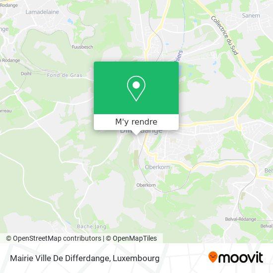 Mairie Ville De Differdange plan