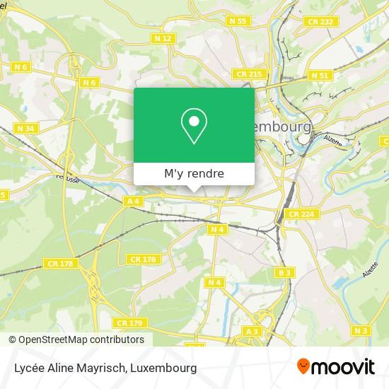 Lycée Aline Mayrisch plan