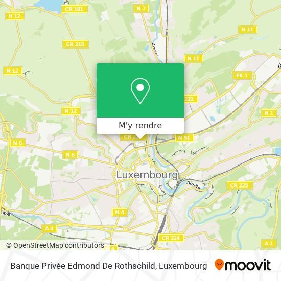 Banque Privée Edmond De Rothschild plan