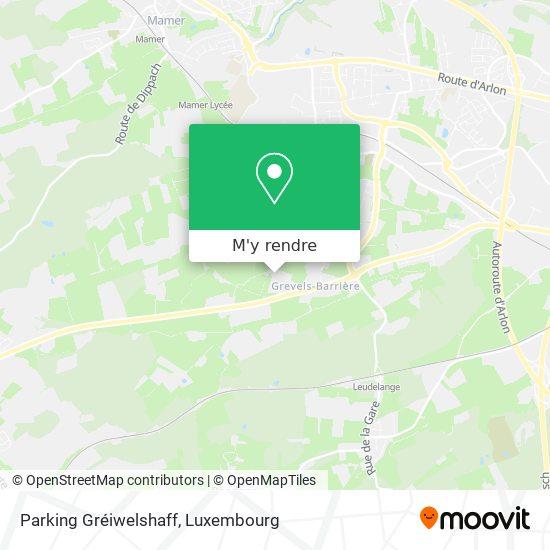 Parking Gréiwelshaff plan