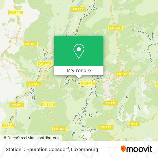 Station D'Epuration Consdorf plan