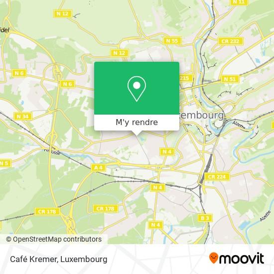 Café Kremer plan
